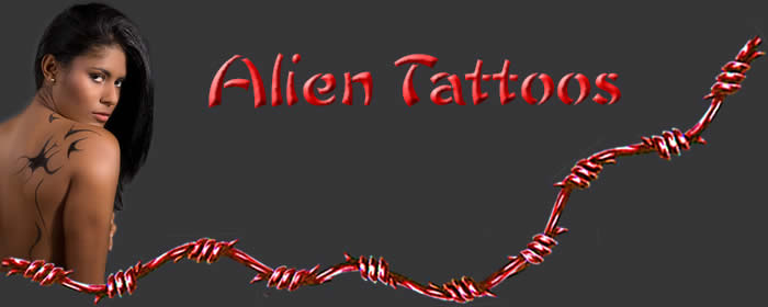 Alien Tattoo designs
