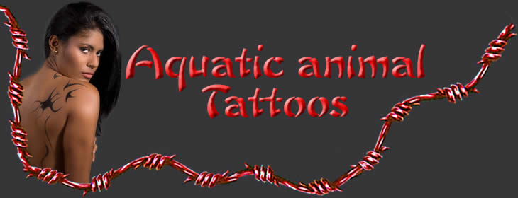 Aquatic animal Tattoos