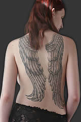 angelwing tattoo